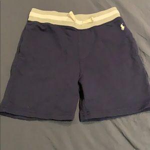 Boys POLO Ralph Lauren navy shorts size 6